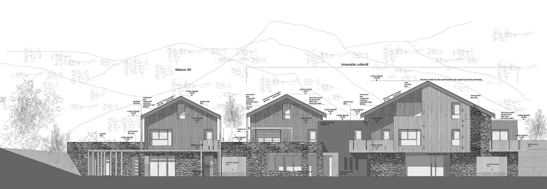 Logements en montagne montgen vre 05 alt r architecture for Atelier 5 architecture
