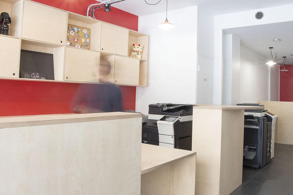 cybercaf paris 75 alt r architecture. Black Bedroom Furniture Sets. Home Design Ideas